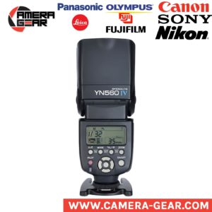 Yongnuo YN560 IV manual flash speedlite with built-in radio trigger