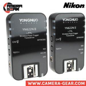 Yongnuo YN622N II flash radio triggers for nikon. hss, ttl wireless radio triggers