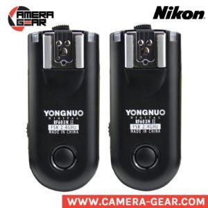 Yongnuo RF-603N II flash triggers. 2.4ghz manual radio triggers for nikon