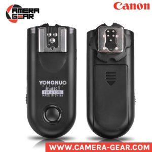 Yongnuo RF-603C II flash triggers. 2.4ghz wireless manual radio triggers