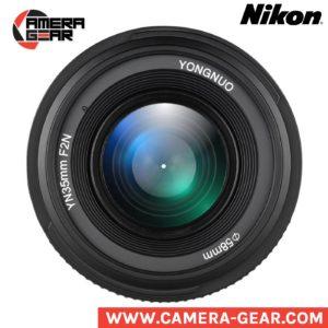 Yongnuo YN35mm f/2 lens for Nikon. prime lens for nikon dslr camera