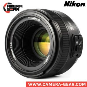 Yongnuo YN50mm f/1.8 lens for Nikon. prime lens for nikon dslr camera