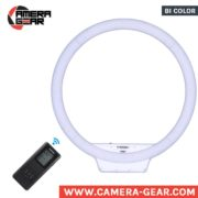 Yongnuo YN608 3200-5500K Ring LED light for macro, portrait, fashion