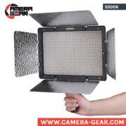 Yongnuo YN1200 5500K LED Light. Daylight balanced powerful led panel
