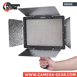 Yongnuo YN1200 5500K LED Light. Daylight balanced powerful led panel