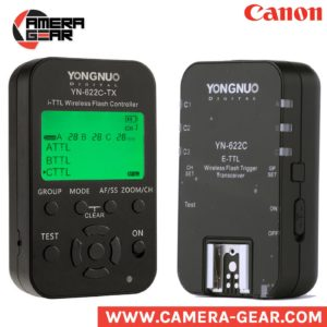 Yongnuo YN622C Kit. yn622c-tx commander and yn622c receiver pack