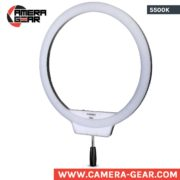 Yongnuo YN608 5500K Ring LED Light. huge diameter ring beauty light