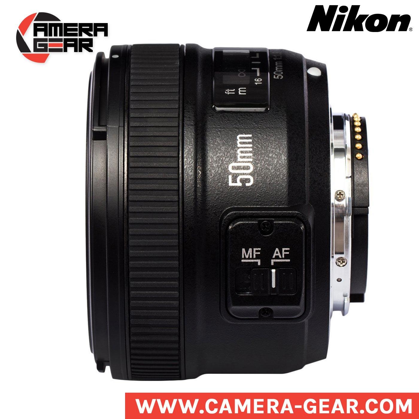 Yongnuo Yn50mm F 18 Prime Lens For Nikon Camera Gear 50mm F18 Mount