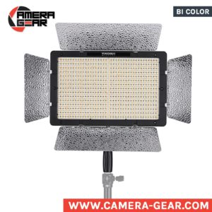 Yongnuo YN1200 3200-5500K bi color led light. powerful variable color led panel