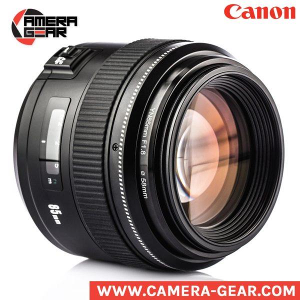 Yongnuo 85mm f/1.8 lens for Canon dslr camera. prime lens for canon
