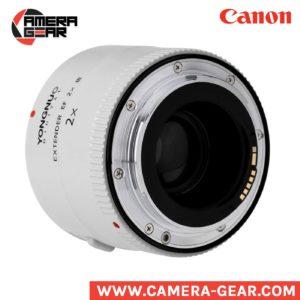 Yongnuo YN-2.0X III teleconverter. extender for canon telephoto lenses