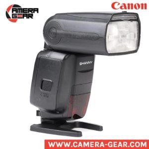 Shanny SN600C flash for canon. ttl, hss flash speedlite for canon dslr