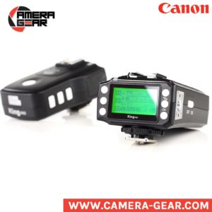 Pixel King Pro for Canon. TTL and hss wireless radio triggers for canon