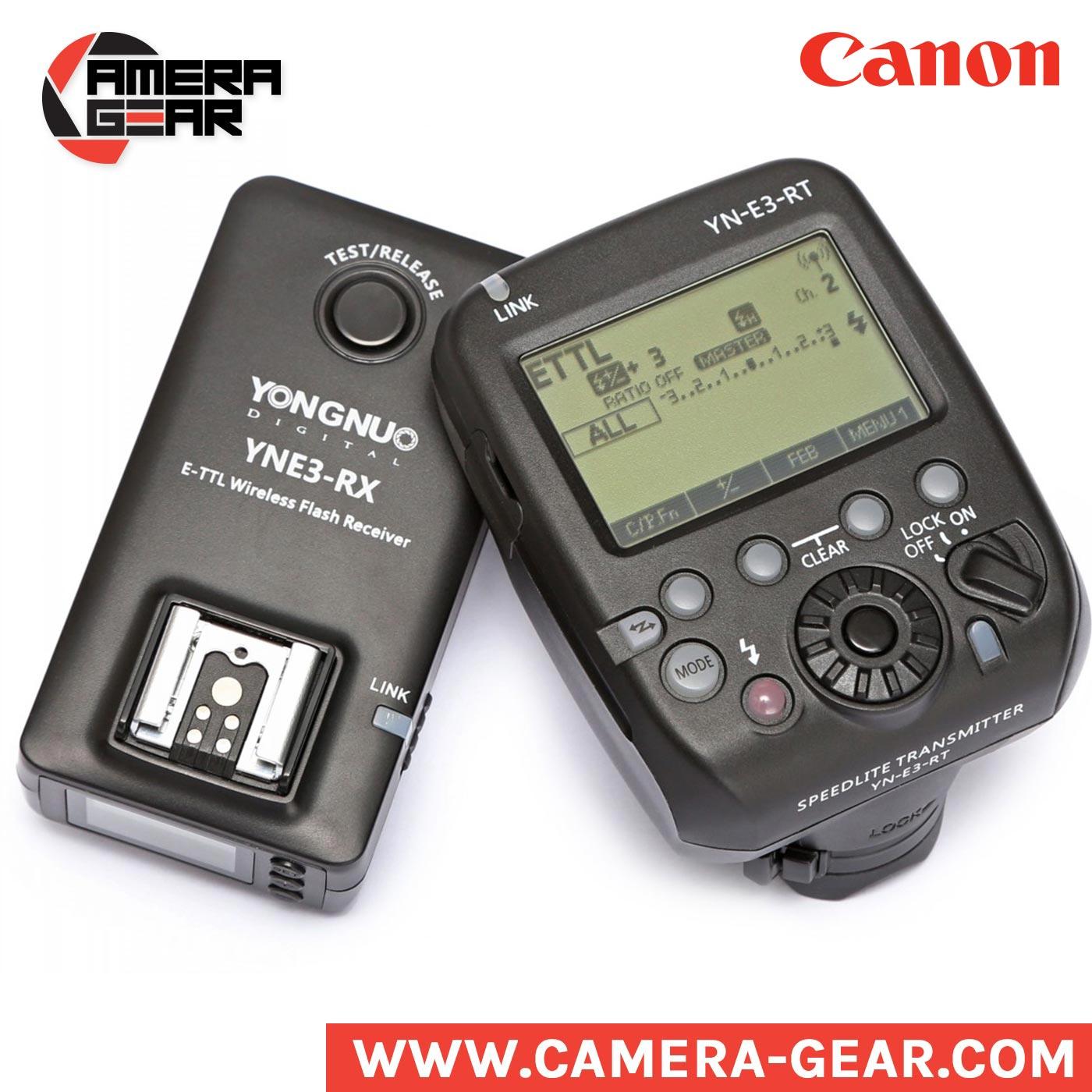 Yongnuo Yne3 Rx Wireless Radio Receiver For Canon Camera Gear Yn 565ex Ii Ttl Lcd Rt System