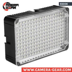 Aputure AL-H198 5500K on-camera led light. Aputure amaran al-h198 pro led video and photo light