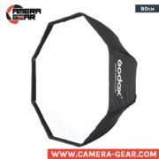 Godox 80cm Octagon umbrella softbox. octagon umbrella softbox for flash speedlite or studio strobe
