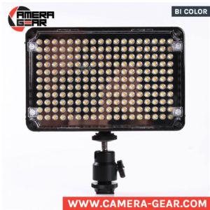 Aputure AL-H198 3200-5500K on-camera led light bi-color model