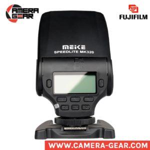 Meike MK-320 for Fujifilm ttl flash speedlite. Great small on-camera flash speedlite