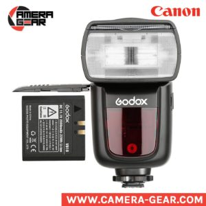 Godox V860II-C Ving li-ion powered speedlite flash with, ttl, hss and built-in trigger.