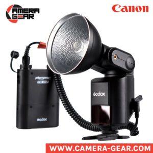Godox Witstro AD360II-C ttl hss bare bulb flash for Canon